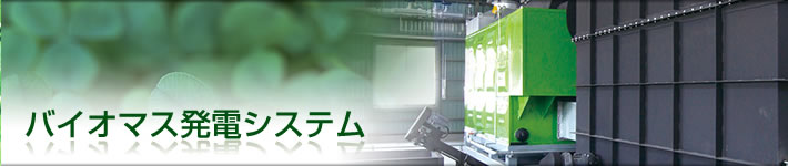 バイオマス発電システム